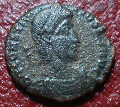 Ad 357-363 Roman Imperial Constantius Ii Ae4 With Vf Detail