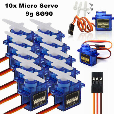 10x Micro RC Mini Servo SG90 9G für Helicopter Flugzeug Roboter boat Airplane