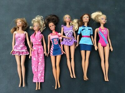 Barbie Dolls Bulk Lot Good Condition