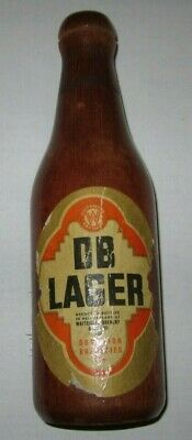 Clothes Brush DB Lager Dominion Breweries Waitemata Otahuhu New Zealand Vintage