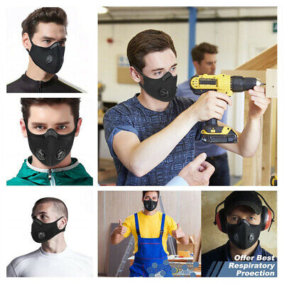 P2 Dust Breathing Mask Activated Carbon Dustproof Mask with Carbon N99 Filters