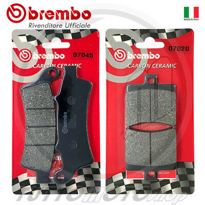 Pastiglie Freno Ant + Post Brembo Aprilia Atlantic 200 2003 2004 2005