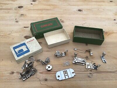 Collection VINTAGE SINGER SEWING-SINGER ATTACHMENTS