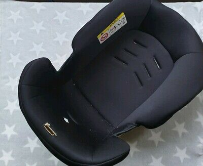 Mothercare Journey Car Seat Black Fabric Pad Cover