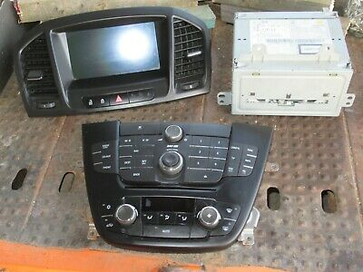 Vauxhall Insignia Sat Nav Navi Display System Head Unit 20939145 22805138