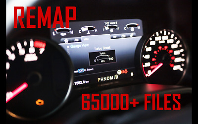 ECU Chip tuning files Remap 65000 files + software Digital download version