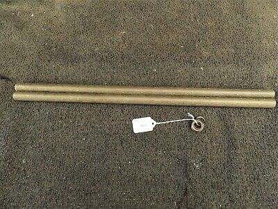 """2 Pieces Of 3/4"""" Embossed Brass Tubing , Free Shipping  # 1211"""