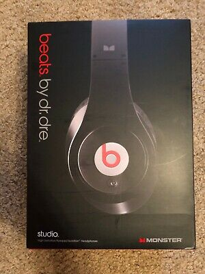 Gently Used Beats by Dr. Dre Studio Wired Headband Headphones - Black