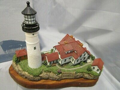 Harbour Lights GREAT LIGHTHOUSES OF THE WORLD Portland Head 404R 1999 Nautical