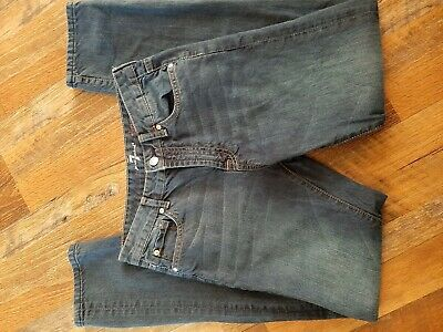 7 For All Mankind Slimmy Boys's Denim Jeans 16 (28 X 31)