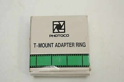Photoco T-Mount Adapter Ring for Canon FD  Made in Japan