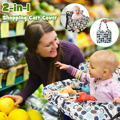 Shopping Cart Cover Cushion Baby High Chair Seat Supermarket Trolley Protector