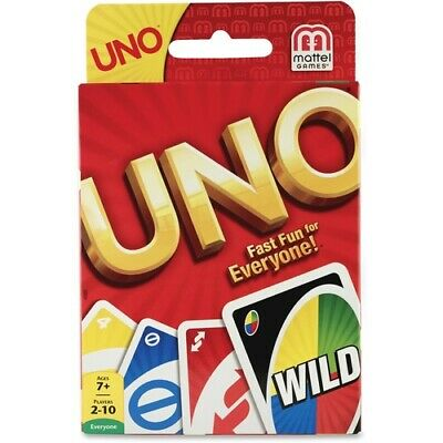 Mattel UNO Card Game - Classic Card Game - Great Group Game - Fast Fun for Every