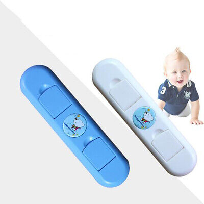 Baby Child Kid Cupboard Cabinet Box Drawer Wardrobe Door Fridge Safety Lock S