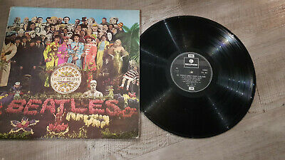 Beatles LP Sgt Peppers Lonely Hearts Club Band 637-1, 638-2