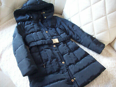 Zara Quilted Padded Coat Navy / Black Duck And Down Feather Age 5-6 Next Post