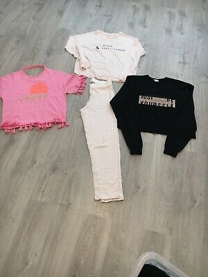 River Island Girls Bundle Age 11 /12 Swearshirt T Shirt Loungewear