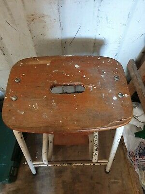 Vintage pair of kitchen steps as found old school 45 pounds on ebay collection