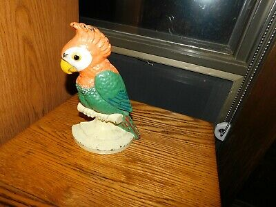 Hubley Parrot Cast Iron Door Stop Antique No. 180