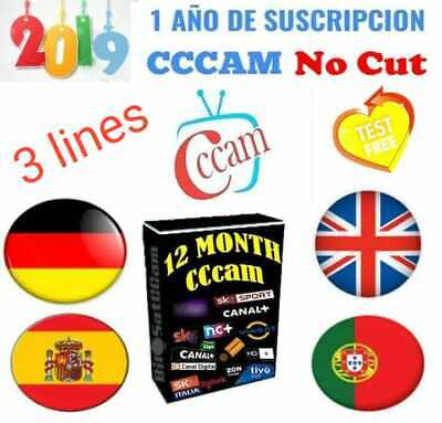 Fast lines Europe Satellite Receiver lines WIFI FULL HD spain Europe 12 month