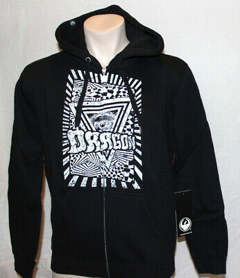 NEW WITH TAGS Dragon Alliance HINDSIGHT Pullover Hoodie CHARCOAL MEDIUM-XLARGE