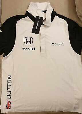 McLaren Honda Jenson Button Team Shirt