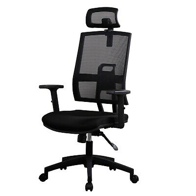 Adjustable Mesh Office Chair Ergonomic Swivel Executive High Back PC Desk Chair