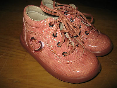 Falcotto By Naturino  Girls  Pink Boots,Sz 23,Exc.c
