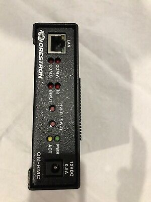 Crestron QM-RMC 2-series Master With Ethernet, i/o, Relay And Serial