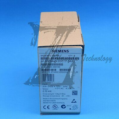 Siemens Inverter 1PC New 6SE6440-2UC17-5AA1 Fast Delivery