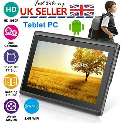 7″ INCH ANDROID 4.4 KIDS TABLET PC QUAD CORE WIFI Camera CHILD CHILDREN