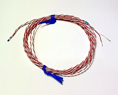 RTD PT100 Relay - Bead Type - 2 Wire 3mtr Lead Length
