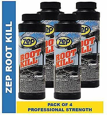 Zep Root Kill 2 lb ZROOT24 (Case of 4) Drain and Septic Care With Copper Sulfate