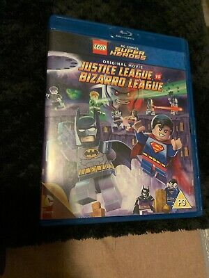 Lego: Justice League Vs Bizarro League [Blu-ray], New Never Watched