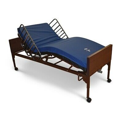 Medline Full Electric Hospital Bed With Mattress And Bed Rails Great Condition