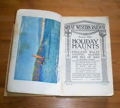 "G.w.r./Great Western Railway ""Holiday Haunts"" 1930 Season"