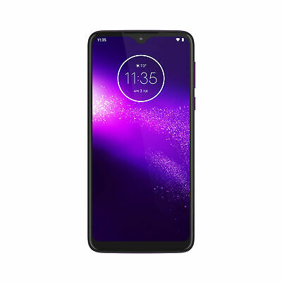 Motorola One Macro XT2016-2 64GB Hybrid GSM Unlocked Phone - Ultra Violet