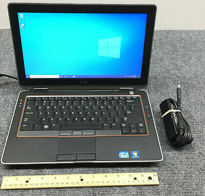 "Dell Latitude E6320 13.3"" Laptop Core i5-2520M, 8GB RAM, 320GB HDD w/Adapter"