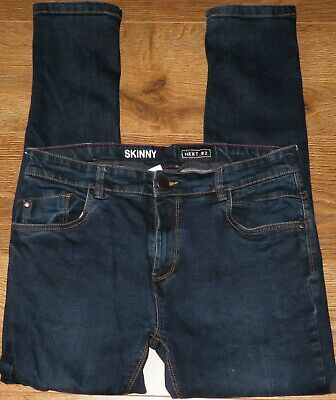 ✿Boys NEXT indigo stretch skinny  denim jeans 16 years✿