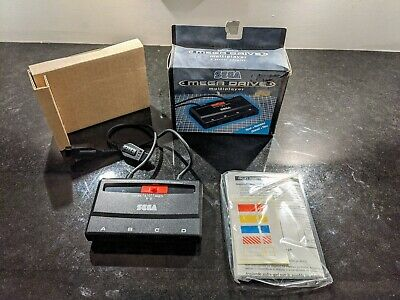 Rare Official Sega Mega Drive Multiplayer 4 Player Adapter Console  - Complete