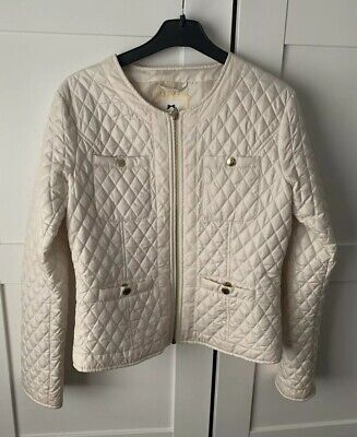 Older Girls Star By Julien MacDonald Cream Quilted Party Jacket Age 14 Years