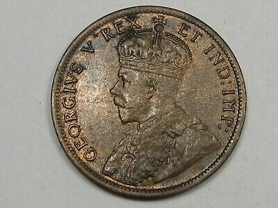 AU/Unc 1911 Canadian Large Cent Penny (Red-Brown). CANADA.  #132