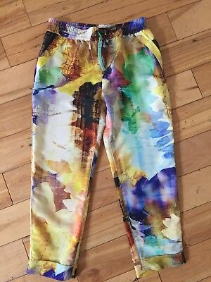 Girls NEXT Summer Trousers Aged 7 Years Fab Con