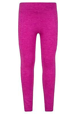 Mountain Warehouse Stretch Girls Cargo Legging with Anti-chafe Flat Seams