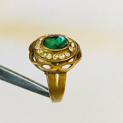 Ancient Rare Extremely Ring Bronze Legionary Roman Old Ring Authentic Artifact