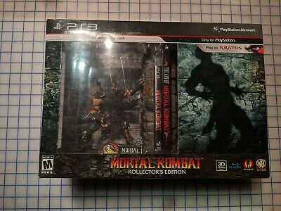 Mortal Kombat Playstation 3 Collector's Edition 2011 - Factory Sealed (PS3)