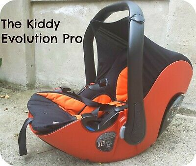 Car seat Kiddy evolution pro 2 without base, used, compatible stroller Joolz