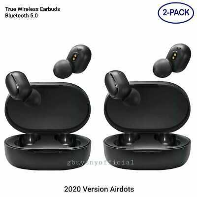 2X 2020 Airdots Wireless Bluetooth Earphone Headphone Earbuds For Android iPhone