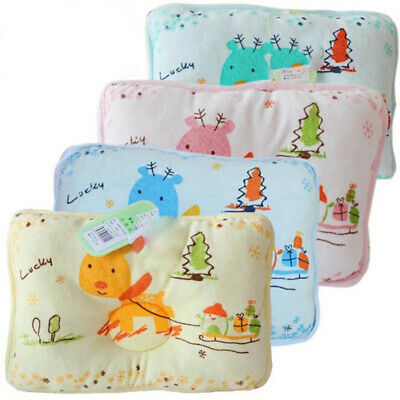 Cute Baby Pillow Newborn Anti Roll Infant Baby Stroller Liner Mat Cushion Pad S