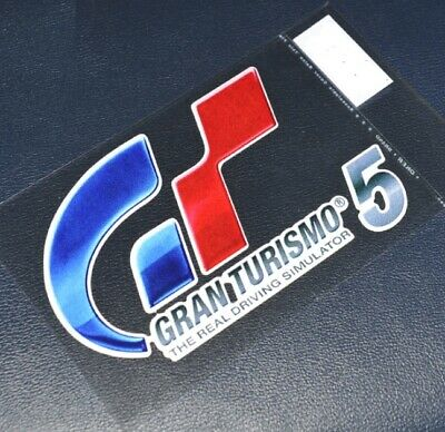 Gran Turismo Windshield Decal Sticker PS4 Game GT 5 6 Free Shipping x 1